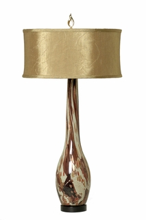 1004-C05-TL01 Thumprints Glitz Table Lamp