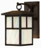 1190SN-DS Hinkley Lighting Pueblo Small Dark Sky Outdoor Wall Sconce
