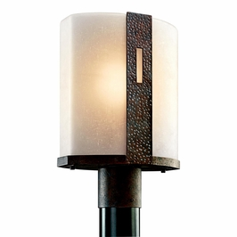 49080OI Kichler Old Iron Outdoor Post Mount 1Lt Montara Outdoor (DISCONTINUED ITEM!)