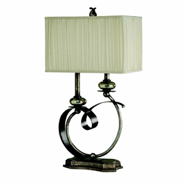 70625 Kichler Westwood Table Lamp 2 Light Portable (DISCONTINUED ITEM!)