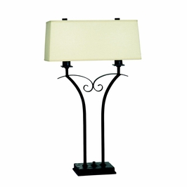 70674 Kichler Westwood Soft Contemporary-Casual Lifestyle Pomeroy 2 Light Table Lamp (DISCONTINUED ITEM!)