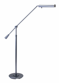FL10-GT House of Troy Floor Swing Arm Lamp in Granite finish with adjustable height (DISCONTINUED ITEM!)