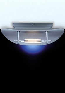 11204-1-39-DISC Holtkotter Trendline Fine Silver Ceiling Fixture SPECIAL PRICING!!