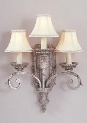WB1113OES-DISC Murray Feiss Normandy Three-Light Wall Sconce Clearance Item