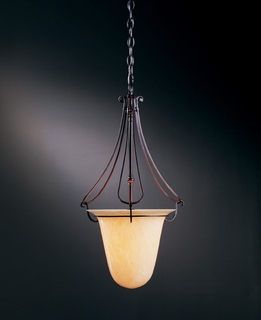 12-1003 Hubbardton Forge Foyer Wrought Iron Pendant