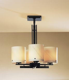 12-3785 Hubbardton Forge Trestle Semi Flush