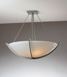12-4560 Hubbardton Forge Compass medium Semi Flush