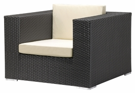 701000 Zuo Outdoor Cartagena Armchair in Espresso Finish