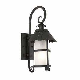 BF8322-D Troy Lighting Camelot Fluorescent Dark Sky Outdoor Wall Sconce