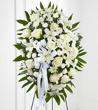 Exquisite Tribute Standing Spray - Standard