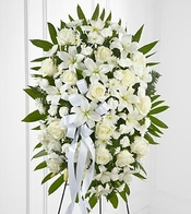 Exquisite Tribute Standing Spray - DELUXE