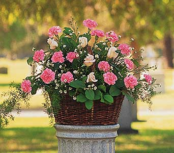Pink Reverence Arrangement