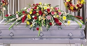 Blanket of Flowers � Casket Spray