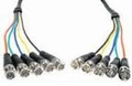 Comprehensive HR Pro Series 5 BNC plugs each end RGBHV Video Cable 25ft  - 5BP-5BP-25HR