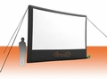Open Air Home Screen - 18' Inflatable Rear Projection Screen