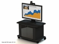 AVF Tech Series Monitor Stand (Black) - C-2736