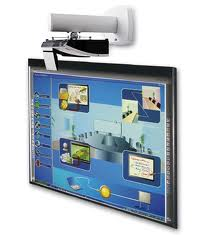 Short Throw Projectors for Interactive Whiteboards