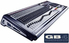 Soundcraft / Spirit GB4 - 16 Mono Channel Live Sound / Recording Console with 4 Stereo Channels and 4 Group Outputs - RW5690SM