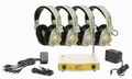 Califone CLS721-4 4-User Wireless Listening System (Yellow Frequency, 72.1MHz)