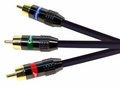 High Definition Double Shielded Component Video Cables