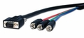 VGA HD15 to Component Video Cables