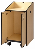 AVF Lectern with Doors - LE3050