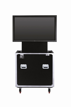 "JELCO RotoLift Rugged TV Lift Case with Rotating Mounting Bracket for 37""-46"" Flat Screen : 60""H x 33""W x 21""D - ELU-42R"