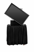 "JELCO RotoLift Rugged TV Lift Case with Rotating Mounting Bracket for 46""-52"" Flat Screen : 64""H x 37""W x 21""D - ELU-50R"
