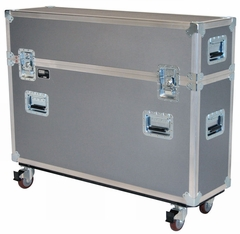 """Jelco Compact Road Case for 37""""-42"""" Flat Screen (No Room for Detached Speakers/Stand) 40""""H x 49""""W x 14""""D - JEL-PDP42T1"""