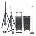 Califone PA919A Integrated Portable PA System with 900MHz Wireless Mic Receiver