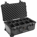 Pelican 1510 Medium Carry On Case with Padded Divider - 1510-004-110