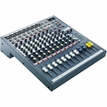 Soundcraft / Spirit EPM 8 - 8 Mono + 2 Stereo Channel Recording and Live Sound Audio Console - RW5735