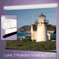Draper Luma 2 Pull Down Projection Screen - Size 49x87 - MW - Open Box