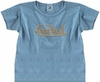 "Scripted Style ""Bay"" Blue Short Sleeves"