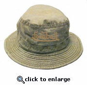 Bucket Hat with Scripted Foosball - OUT OF STOCK