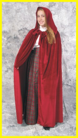 Red Caroler Cloak