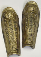 Gold Leg Guards