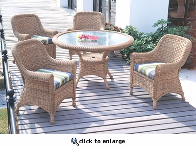 Tahiti Dining Set of 7 (MF)