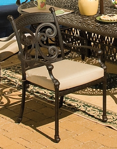 Cast Aluminum: Concord Dining Chair Cushions