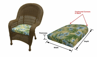 Dining Chairs: Avon Dining Chair Cushions