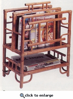 Plantation Magazine Rack (UPS $35) (40% Off!)