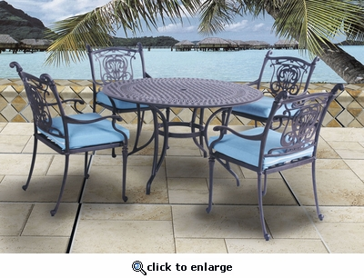 Castle Round Dining Set of Five (MF) (15% Off!)