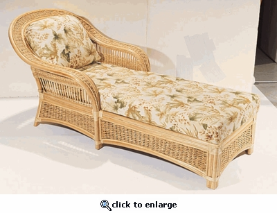 Seawinds Chaise Lounge Cushions with Sunbrella & Richloom Premiere Fabrics (UPS $45)