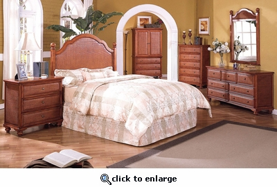 Milan 5 Drawer Dresser (MF)