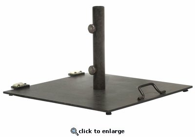 Free Standing Umbrella Base with Wheels (UPS $85)