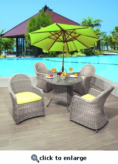 Bahama Dining Set of 5 (MF)