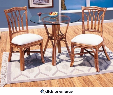 Cathedral Bistro Set/3 (UPS $95)
