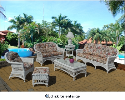 Grand Cayman Living Set of 6 (Indoor/Sunroom only!)