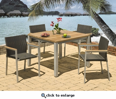 Del Mar Dining Set of Five (MF)