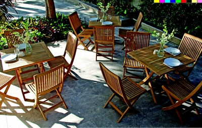 Vila Folding Dining Sets